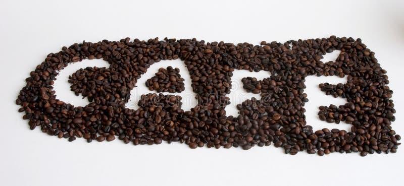 Coffee. Sign stock photo