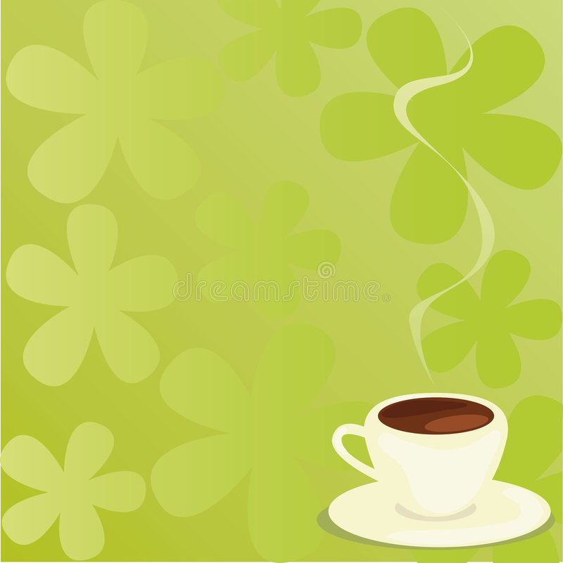 Download Coffee stock vector. Illustration of scented, comfortable - 8182617