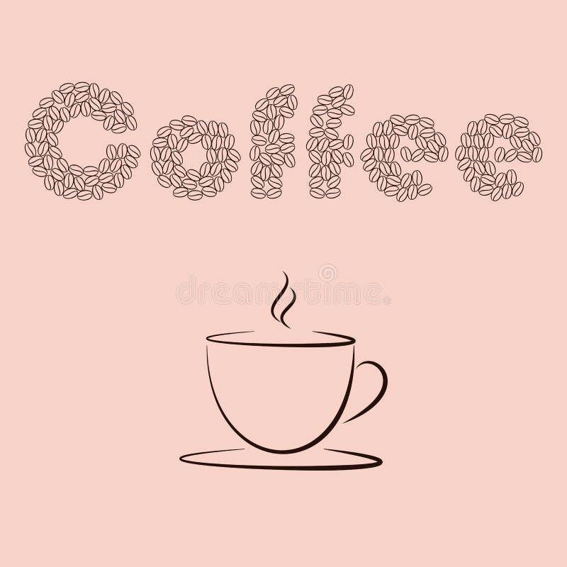 Coffee-03 royalty ilustracja