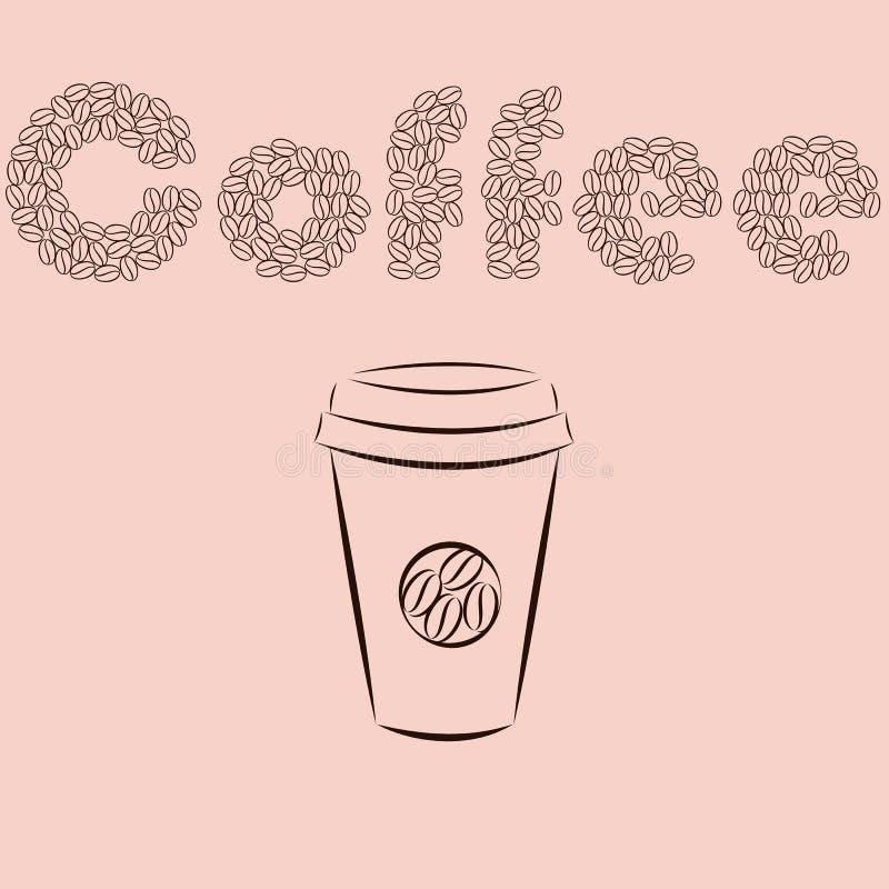 coffee-04 ilustracja wektor