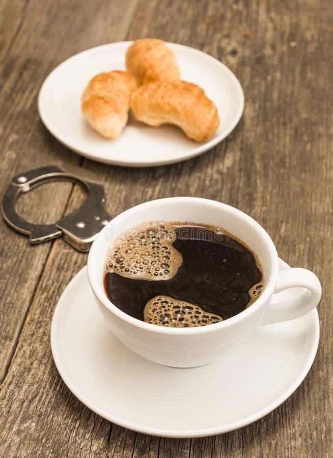 Coffee addicted royalty free stock photos