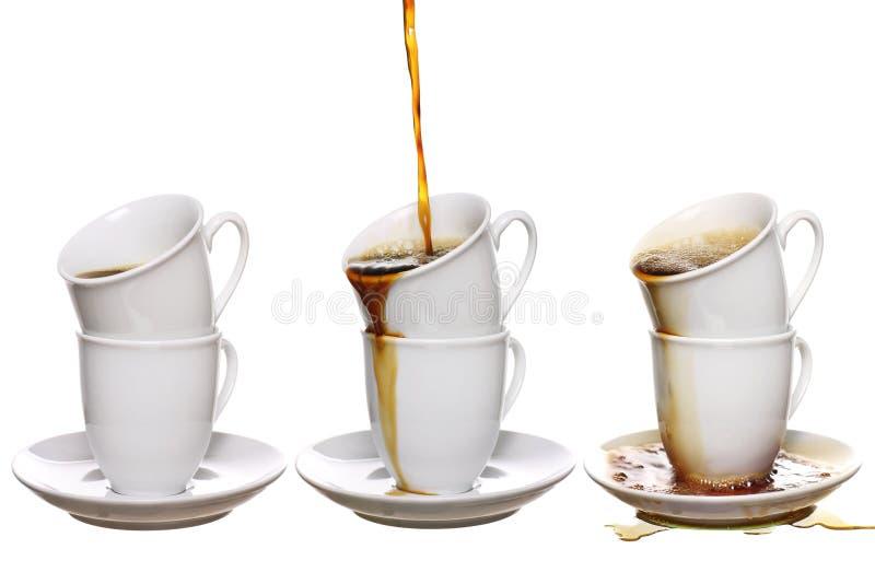 Coffee addiction royalty free stock photography