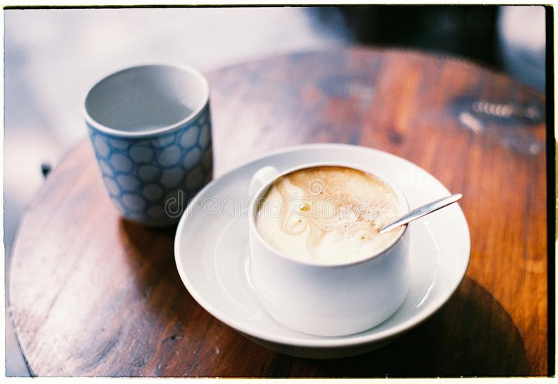 Coffee alone stock images