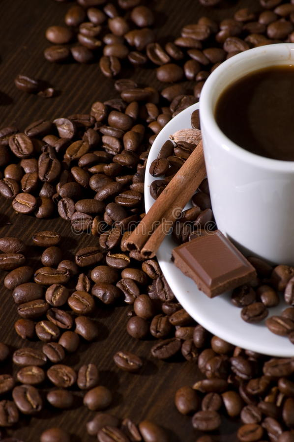 Free Coffee And Chocolate Royalty Free Stock Photo - 10608785