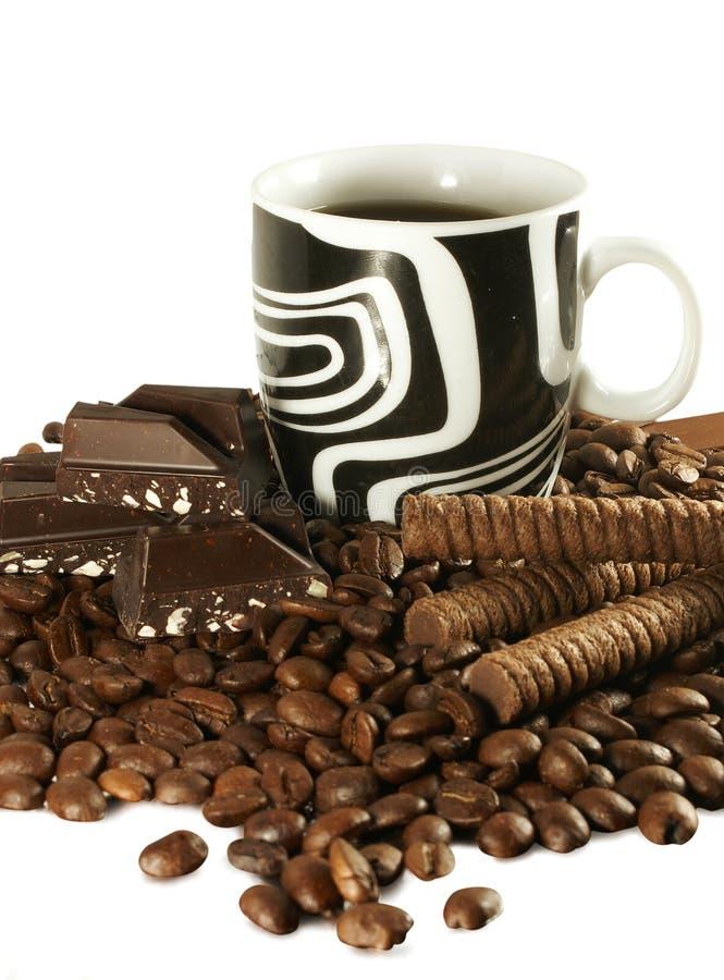 Free Coffee And Chocolate Stock Photography - 5429732