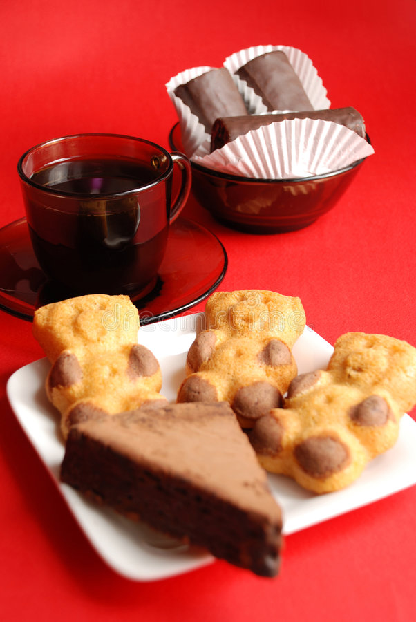 Free Coffee And Cookies Royalty Free Stock Image - 4422166
