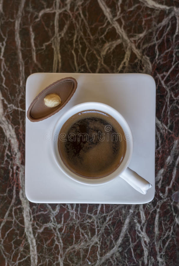 Coffee aroma cappuccino chocolate cofee cup empty hot espresso drink break milk morning royalty free stock image