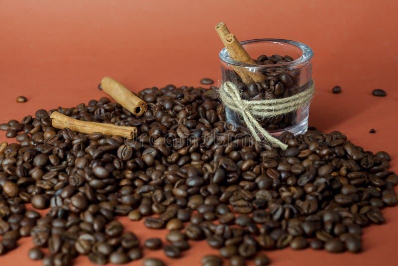 Coffee aroma mix royalty free stock photo