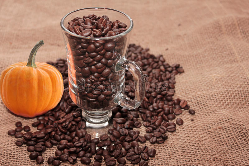 Download Coffee of autumn. stock photo. Image of fresh, background - 20674696