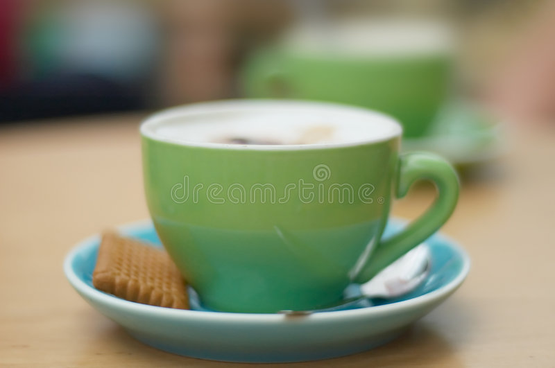 Coffee background. With trendy colors stock photos