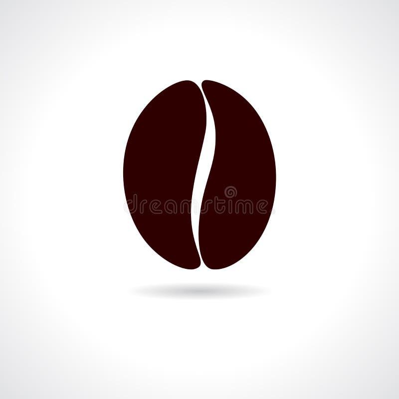 Coffee bean icon vector illustration