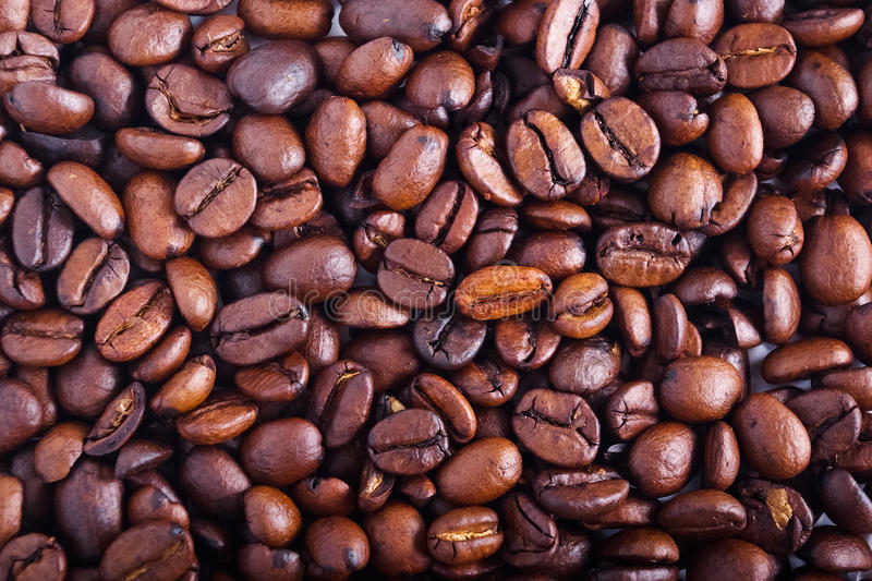 Coffee beans. Texture of coffee beans. It can be used as background