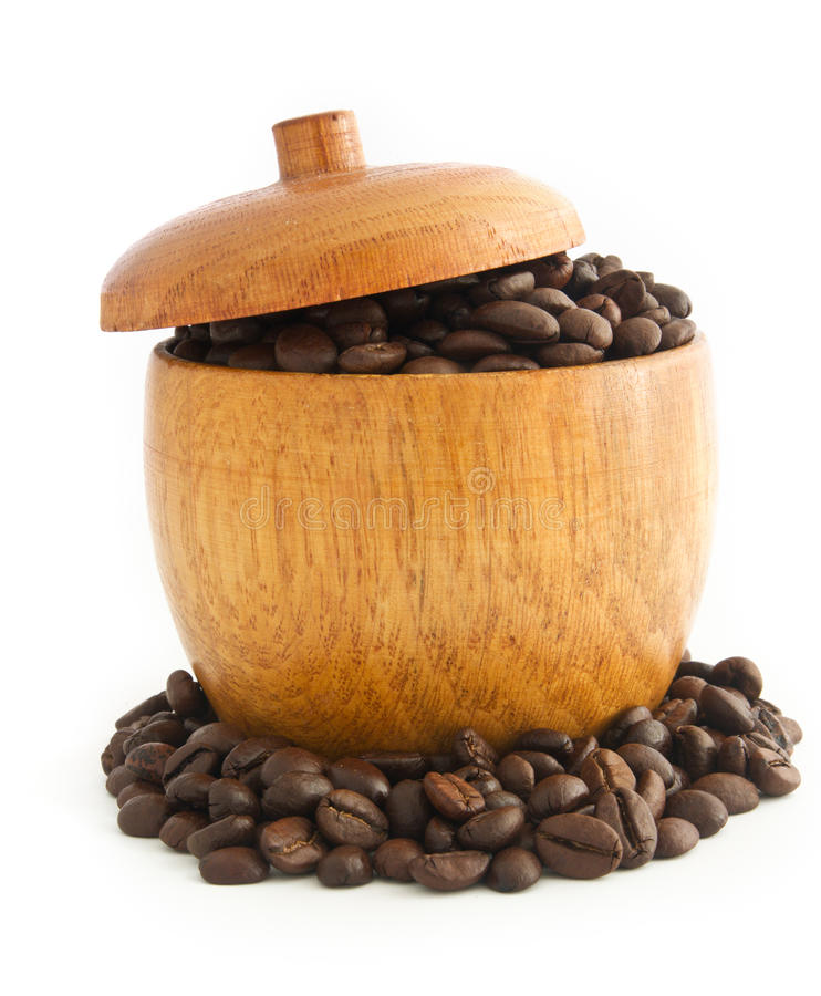 Download Coffee Beans stock image. Image of roasted, horizontal - 17863735