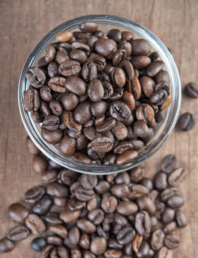 Download Coffee beans stock image. Image of background, contrast - 26624887