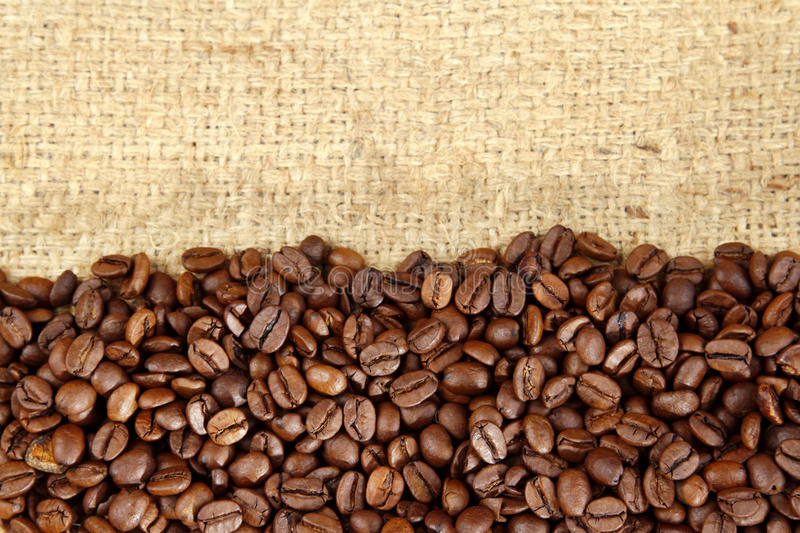 Download Coffee beans stock image. Image of closeup, color, brown - 28632335