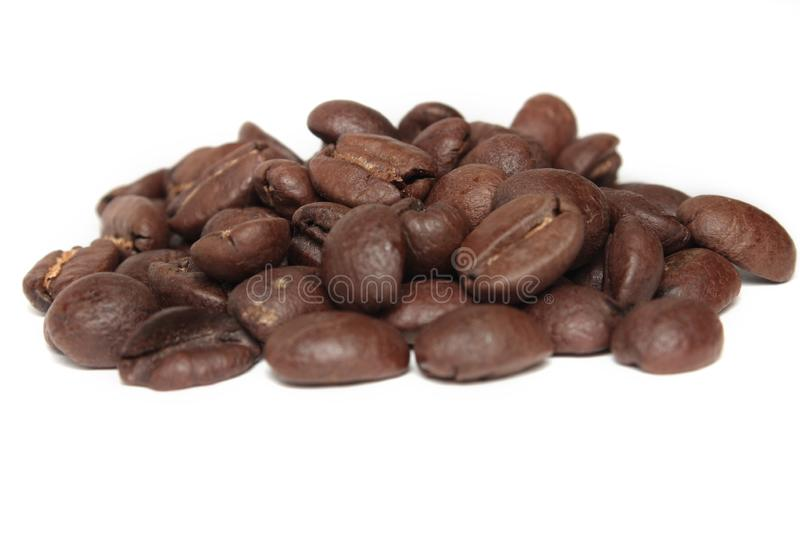 Download Coffee beans stock image. Image of white, coffee, object - 9726357