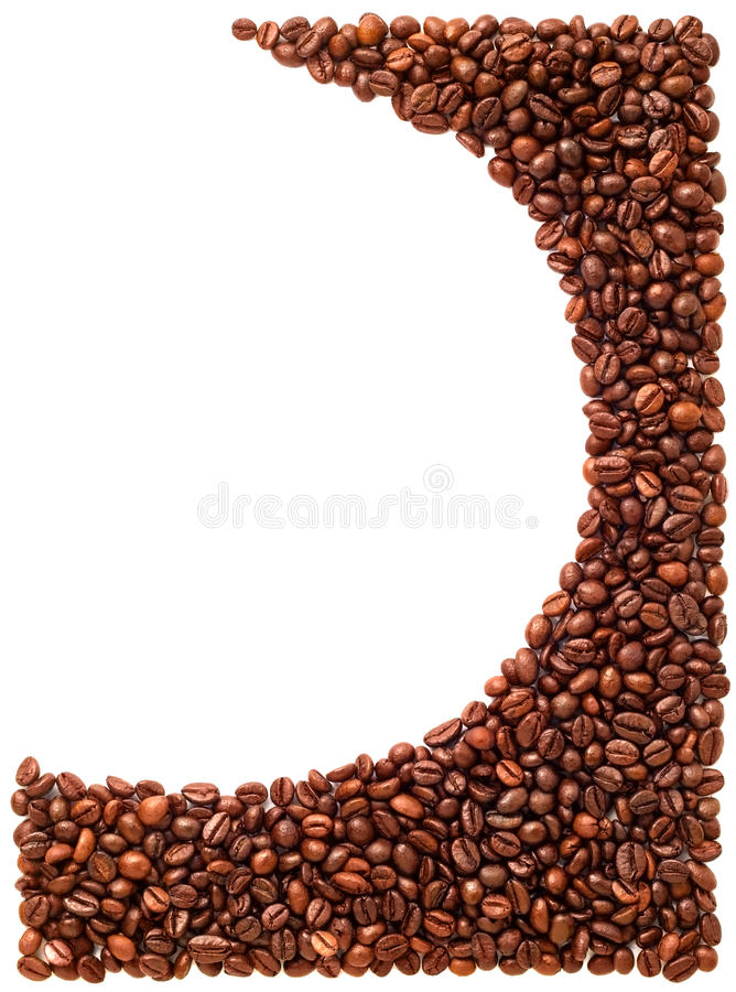 Coffee beans background. royalty free stock photography