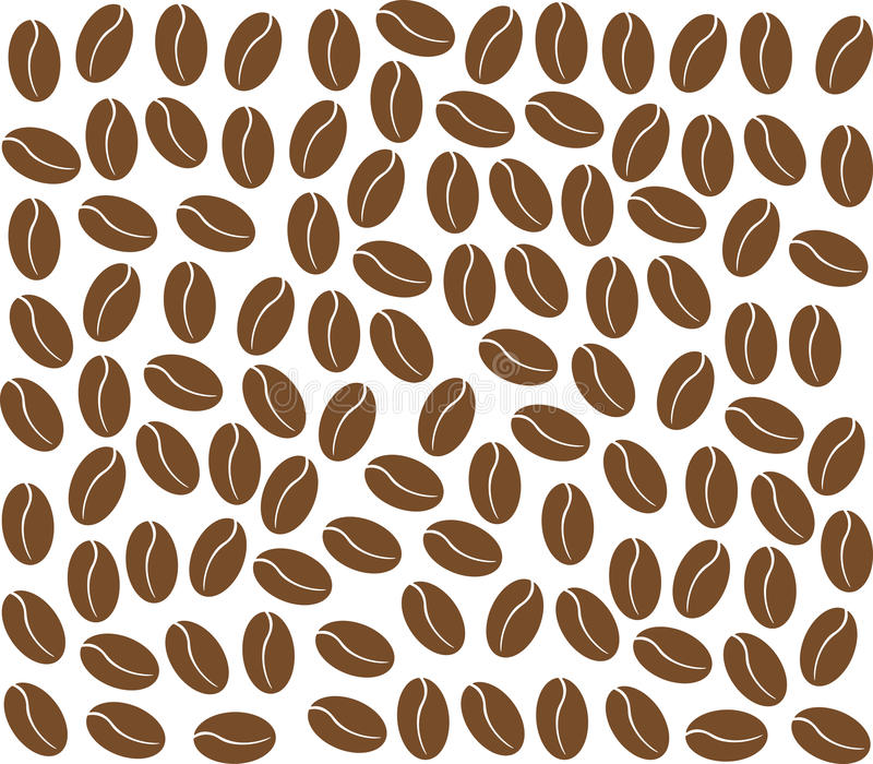 Download Coffee beans background stock vector. Illustration of bean - 30343886