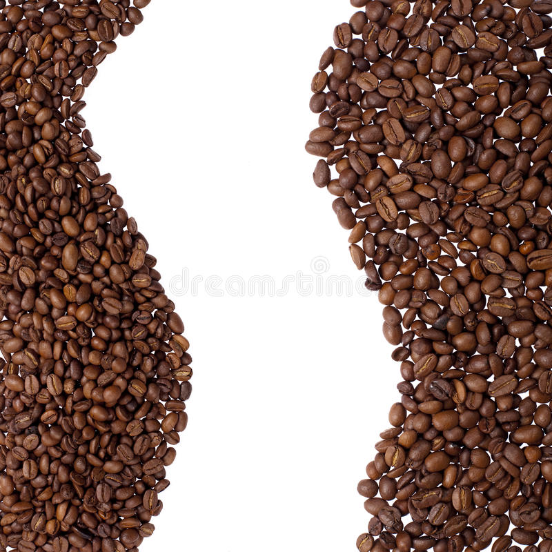 Download Coffee beans border stock photo. Image of closeup, cafe - 11143176
