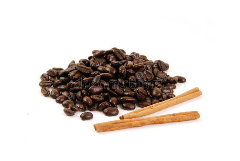 Download Coffee Beans And Cinnamon Sticks Stock Photo - Image: 16475598