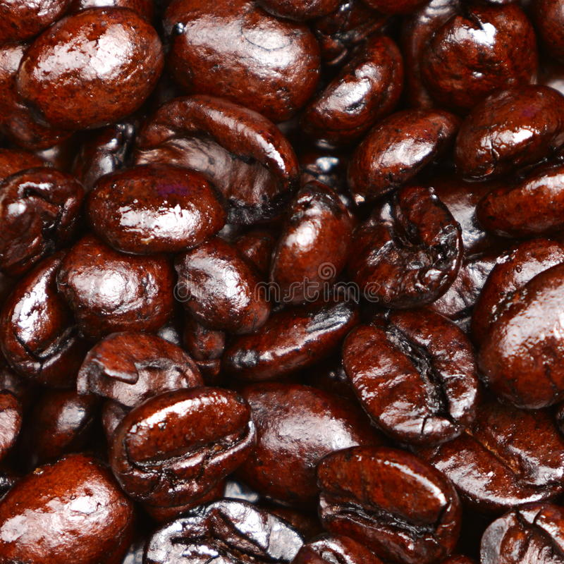 Download Coffee Beans Closeup Texture Background Stock Image - Image: 23604225
