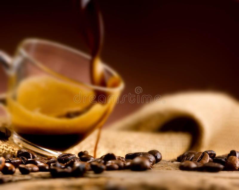 Download Coffee Beans' In The Foreground, Set Stock Image - Image of pasta, bars: 39504211