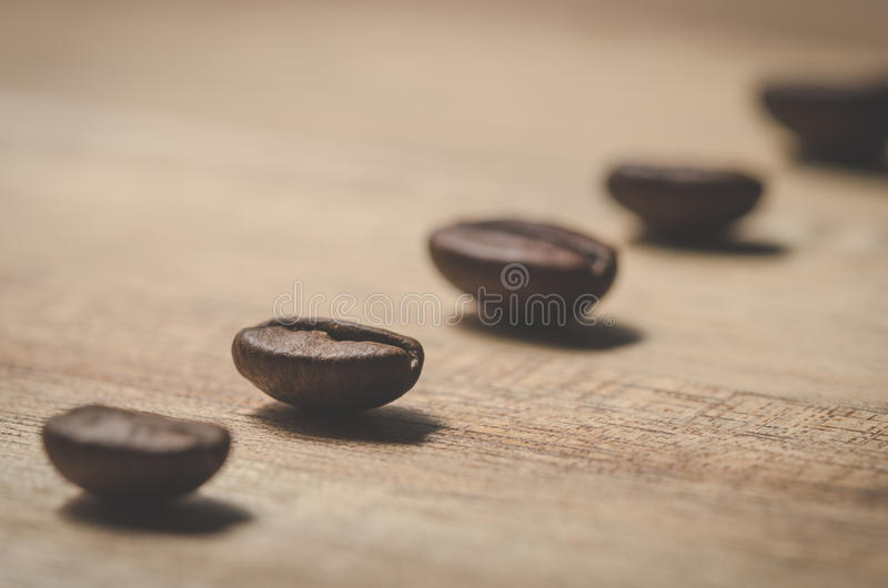 Coffee beans. Image of a close up of coffee beans royalty free stock photography