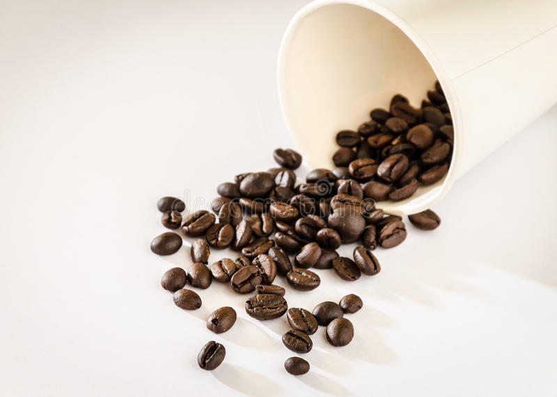 Download Coffee beans roasted stock photo. Image of up, ingredient - 39510330