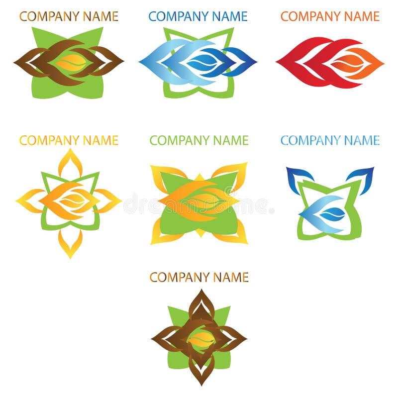 Business company logos stock photos