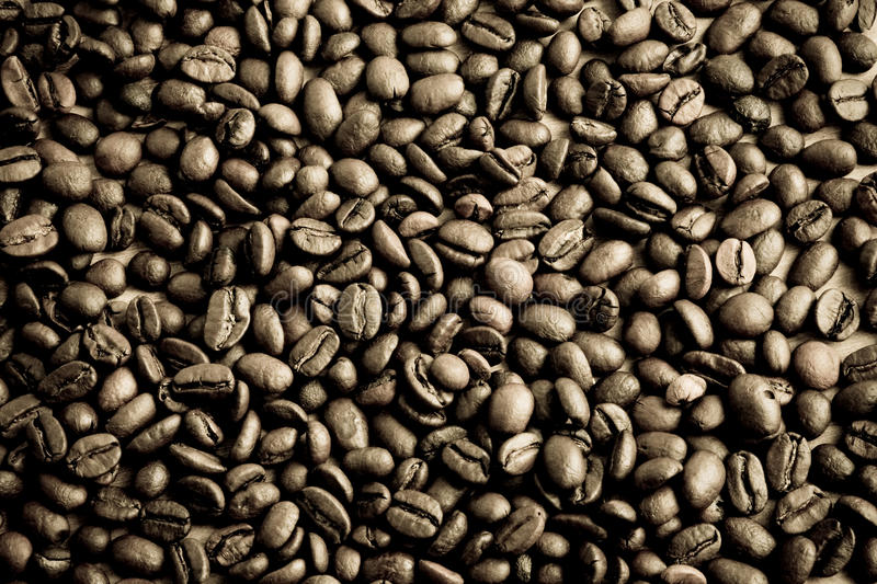 Download Coffee beans at texture stock photo. Image of morning - 12791720