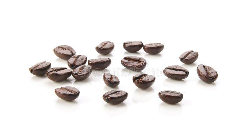 Coffee beans. on white background. royalty free stock photos