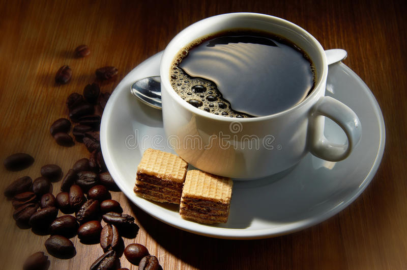 Download Coffee Beverage stock photo. Image of brew, cafe, addiction - 21926278