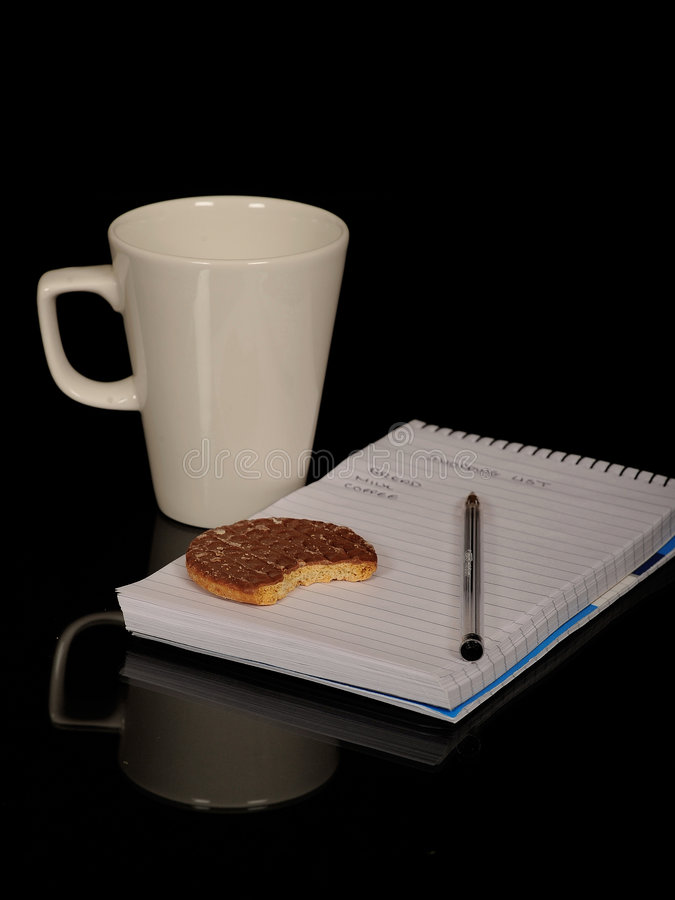 Download Coffee and biscuits stock image. Image of cafe, coffee - 6977631
