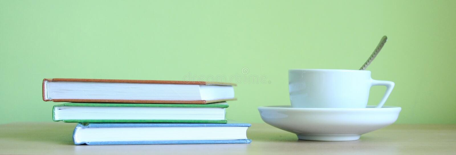 Download Coffee And Books Stock Photo - Image: 15810280