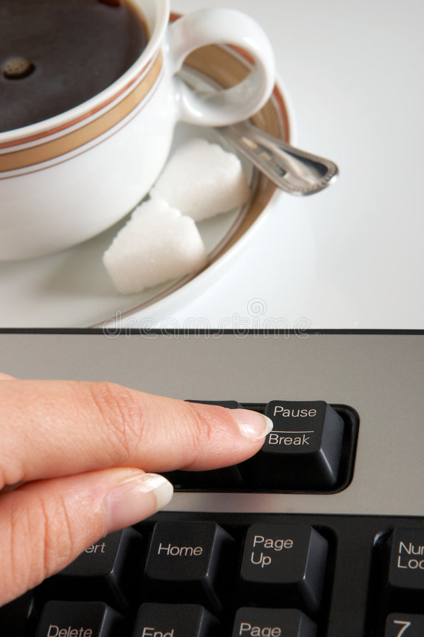 Download Coffee Break Stock Photo - Image: 2739800