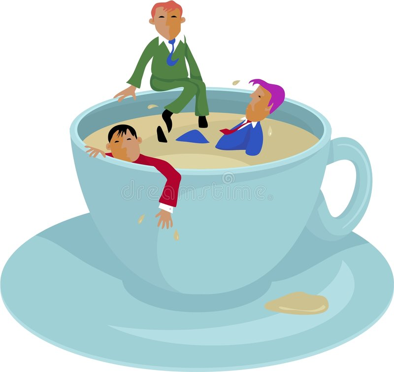 Coffee Break stock illustration