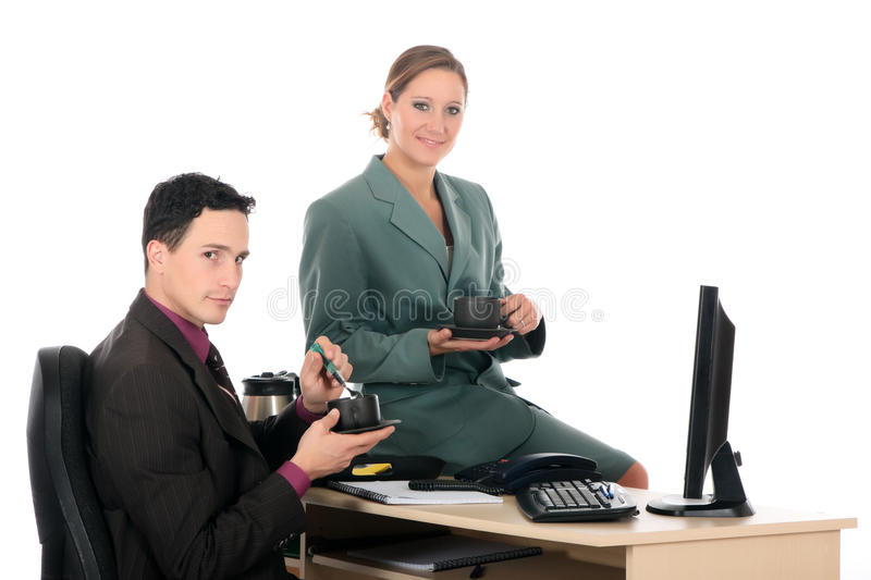 Download Coffee Break Business Office Stock Photo - Image: 12495480