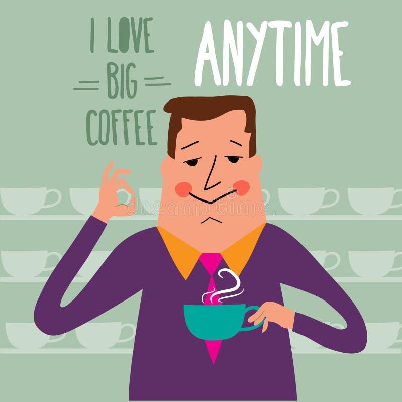 Free Coffee Break, Businessman Drinking Coffee Royalty Free Stock Photography - 51802197
