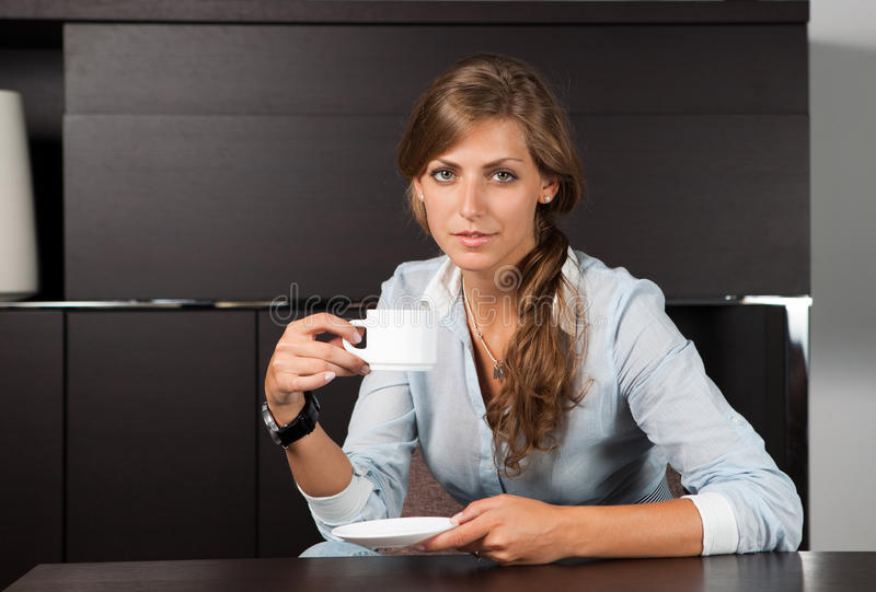 Download Coffee Break In Office Stock Photos - Image: 15964103