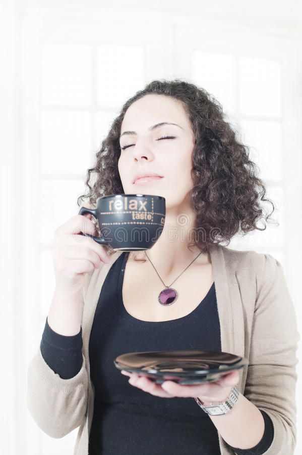Download Coffee break at the office stock image. Image of human - 16584309