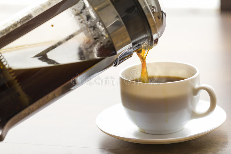 Coffee Brewing stock photos