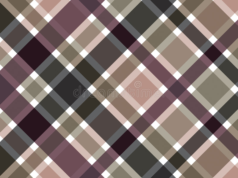 Download Coffee brown plaid pattern stock vector. Image of colorful - 3023033