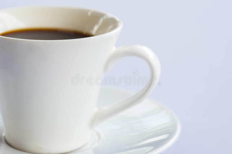 Coffee at Cafe. With selective focus stock image