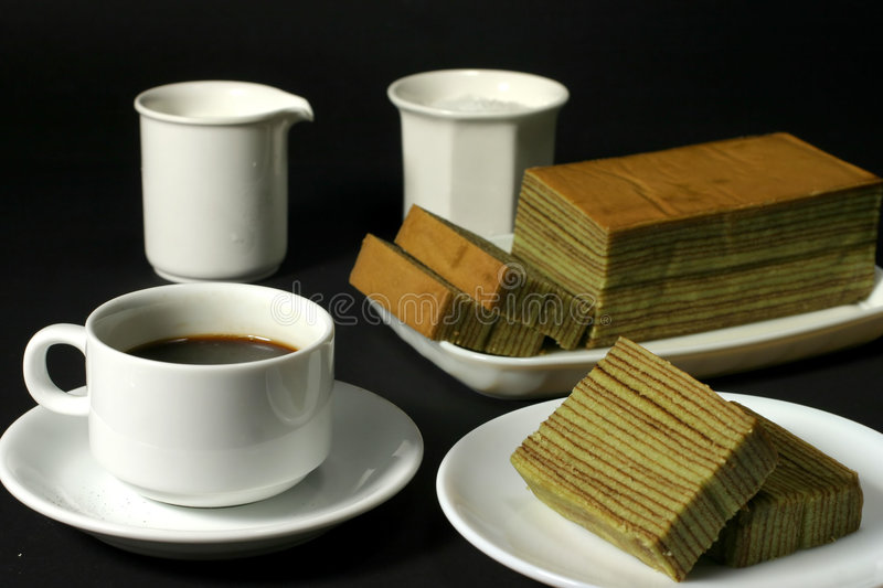 Download Coffee & cake stock image. Image of oily, drink, smooth - 216999