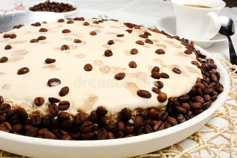 Download Coffee cake stock photo. Image of dessert, cream, drink - 25279206