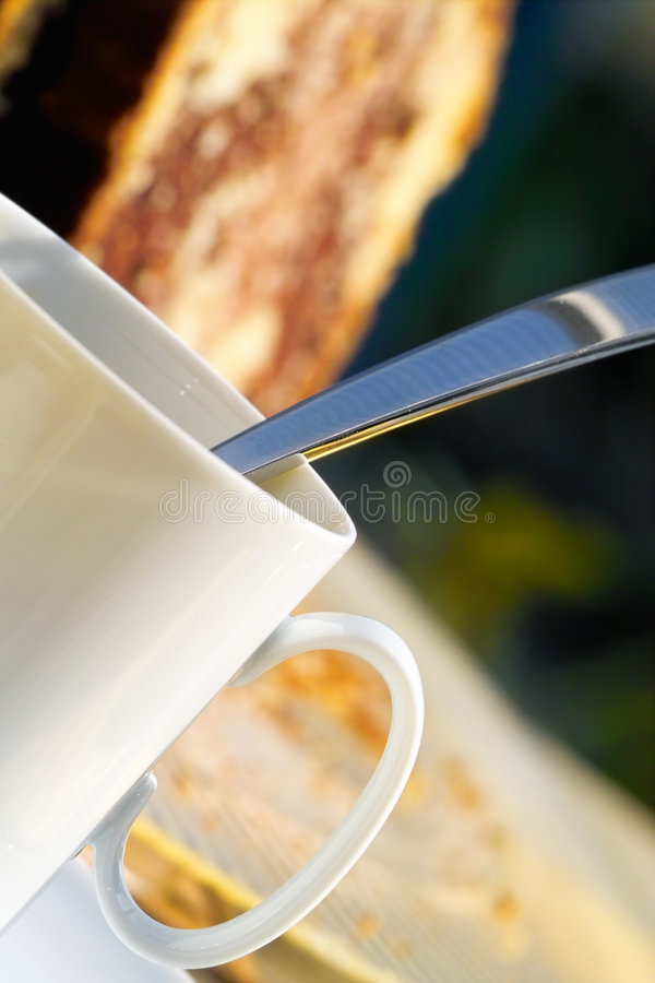 Download Coffee and cake stock photo. Image of fresh, mocha, bisquit - 691748
