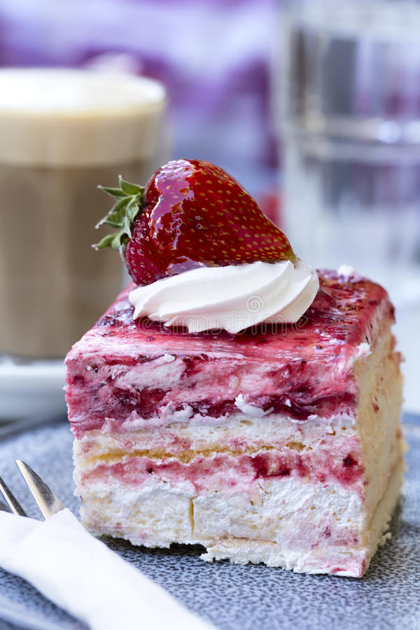 Coffee and Cake stock images
