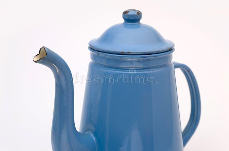 Download Coffee Can Madam Blue stock image. Image of antique, liquid - 7132943