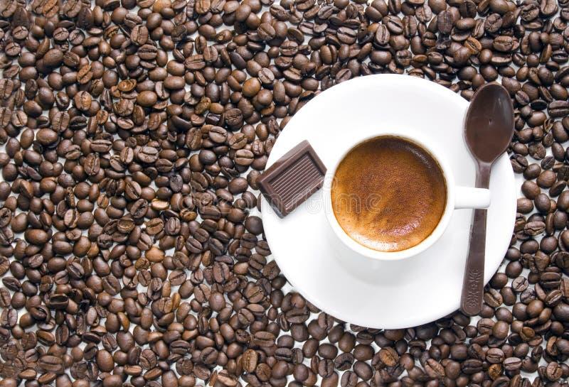 Coffee & chocolate stock photos