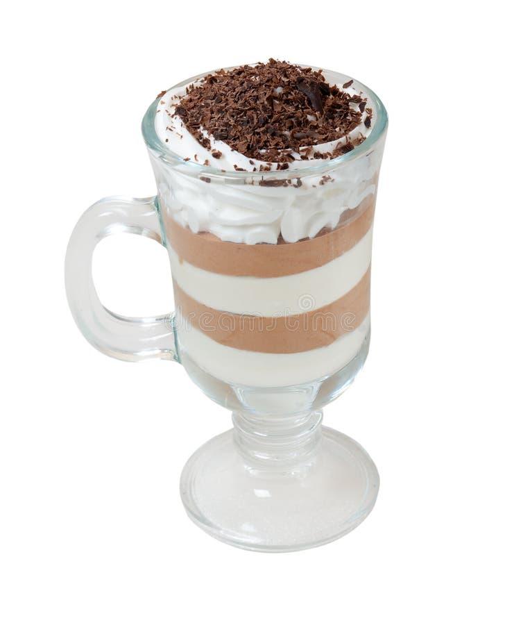 Coffee chokolate cocktail royalty free stock photography